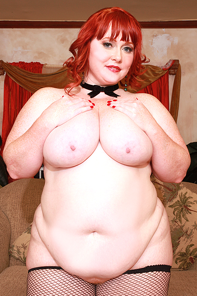 Red headed plumper sex